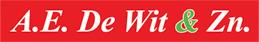 Logo Fa. A.E. de Wit & zn.